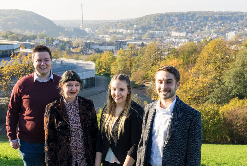 Gruppenfoto der Kandidaten
